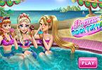 Prinses pool party