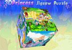 3d disney princess Puzzle