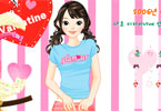 Modern girl dressup game