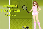 Fille de Tennis
