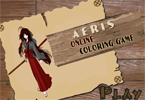 Aeris online Kleurplaten