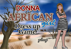 African Girl Dress Up Game