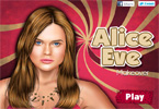 Alice Eve Makeover