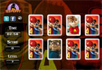 Alvin and the Chipmunks - geheugen spel