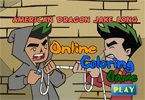 American Dragon Jake Long Online Coloring Game
