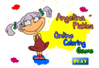 Angelina Pickles Online Coloring Game