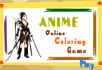 Anime Online Coloring Game