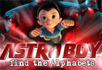 Astro Boy - Find the Alphabets