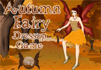 Autumn Fairy Dress Up Game