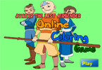 Avatar the Last Airbender Online Coloring Game