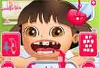 Girl games 9000 free games for girls 123 peppy games for Baby dora tooth decoration