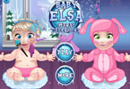 Baby Elsa Great Makeover