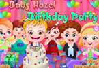 Baby Hazel Birthday Party