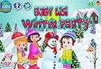 Baby lisi winter party