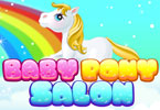 bébé poney salon