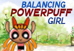 Balancing Powerpuff Girl