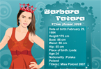 Barbara Tatara - Miss Poland 2008