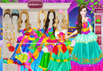 barbie cinderella dress up
