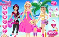 Barbie y hermanas