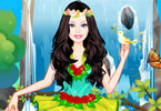 Barbie Earth Princess Dress Up