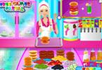 Barbie leuk cafe