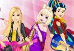 Barbie w Disney Rock Band