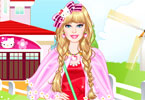 barbie kitty prinses aankleden