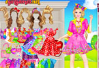 Barbie Lollipop Princess Dress Up