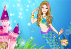 princesa sirena barbie