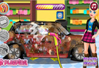 Barbie Mini Cooper Car Wash