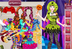 Barbie Monster High gwiazdki