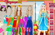 Barbie Morning Princess Dress Up