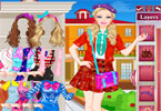 barbie nerdy prinses Dress