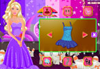 barbie party dress up