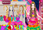princesa popstar barbie dress up