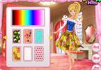 Barbie dress patchwork Walentynki