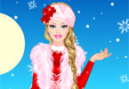 barbie winter prinses aankleden