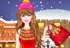 barbie winter winkelen