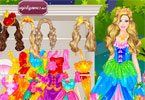 Barbies Castle Dress Up