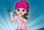 Baseball Beauty Dressup