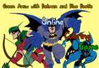 Batman and the Blue Beetle Online Coloring Game