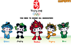 Beijing China Olympics Dressup Game