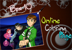 Page de Coloration de Ben10