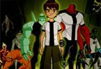 ben10 Alien Force puzzel waanzin