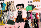 Betty Boop Dressup Game