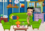 Betty Boop woonkamer decor