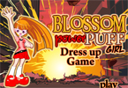 Blossom Powerpuff Girl Dress Up Game