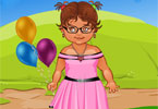 Bubbly Girl Dressup