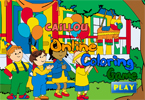 Caillou Online Coloring Game