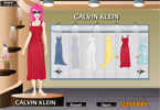 Calvin Klein Dress Up Game